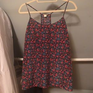 Bright Floral Racerback Camisole